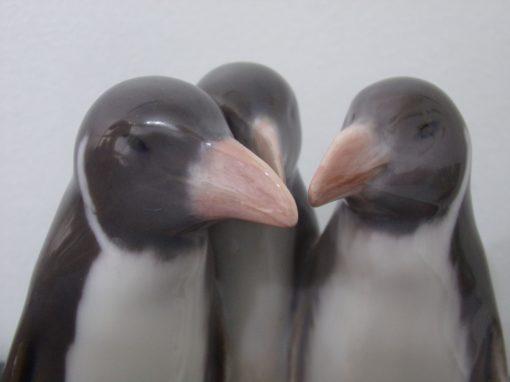 Pingouins en porcelaine de Copenhague